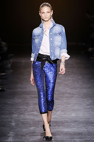 Isabel Marant's Fall 2010 runway inspired by 1950's