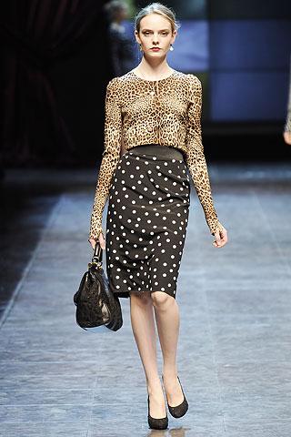 Dolce and Gabbana Fall 2010