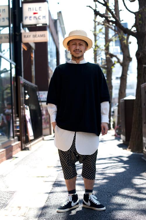 Tokyo style via The Sartorialist