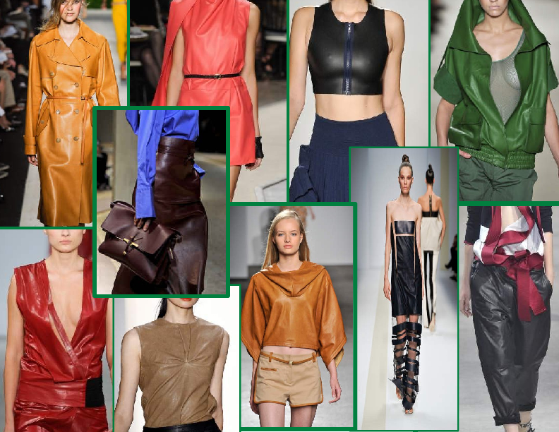 SPRING/SUMMER 2011 TOP 10 TRENDS:  #6 LIGHTWEIGHT LEATHERS