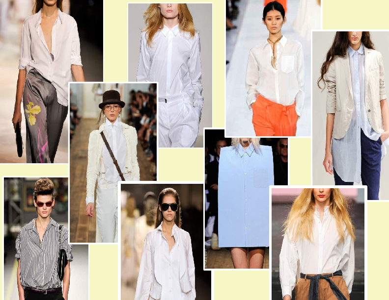 SPRING/SUMMER 2011 TOP 10 TRENDS:  #2 THE SHIRT