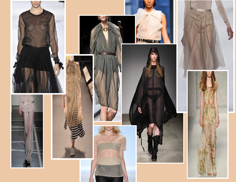 SPRING/SUMMER 2011 TOP 10 TRENDS:  #4 TRANSPARENCY