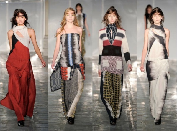 Peter Pilotto Fall 2011 collection