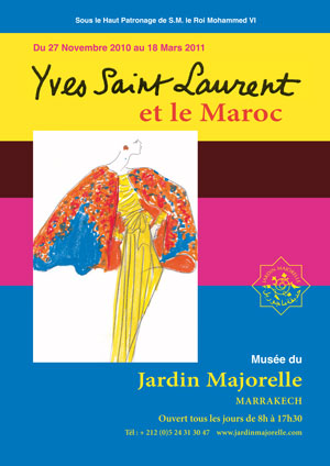 YSL AND MOROCCO:  A RELATIONSHIP OF LOVE
