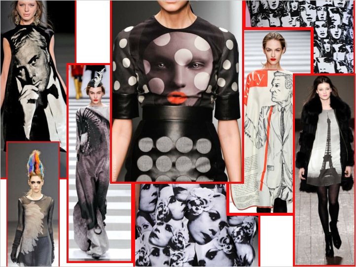 TREND ALERT:  BLACK/WHITE PHOTOGRAPHIC PRINTS