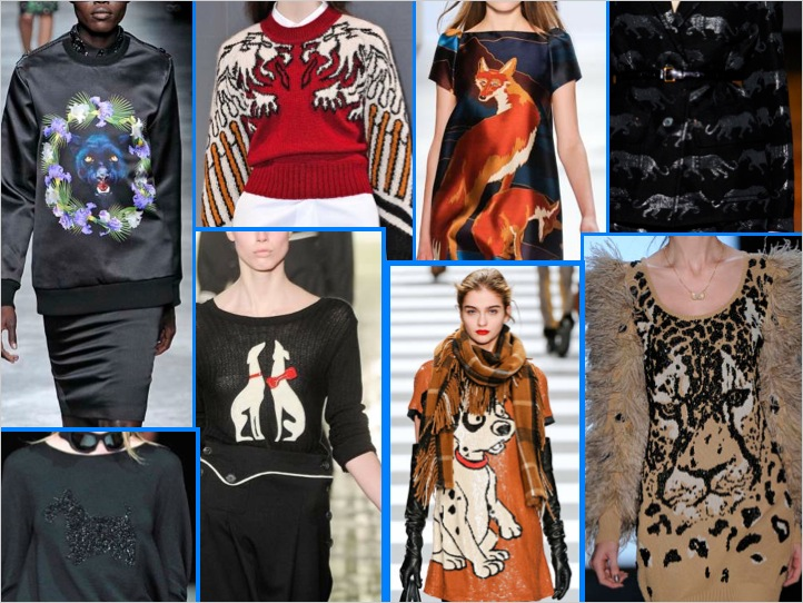 LIONS, TIGERS, and DOGS..OH MY!! ANIMAL MOTIFS FOR FALL 2011