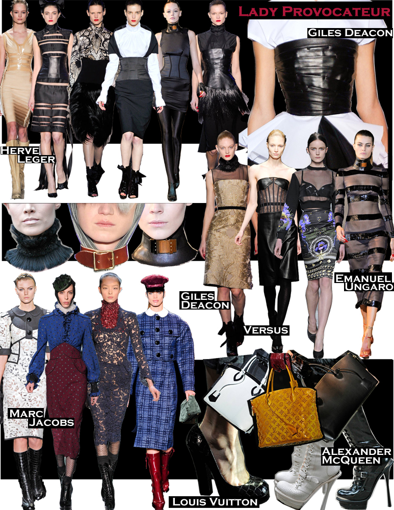 FALL 2011 TOP 10 TRENDS:  #10 LADY PROVOCATEUR