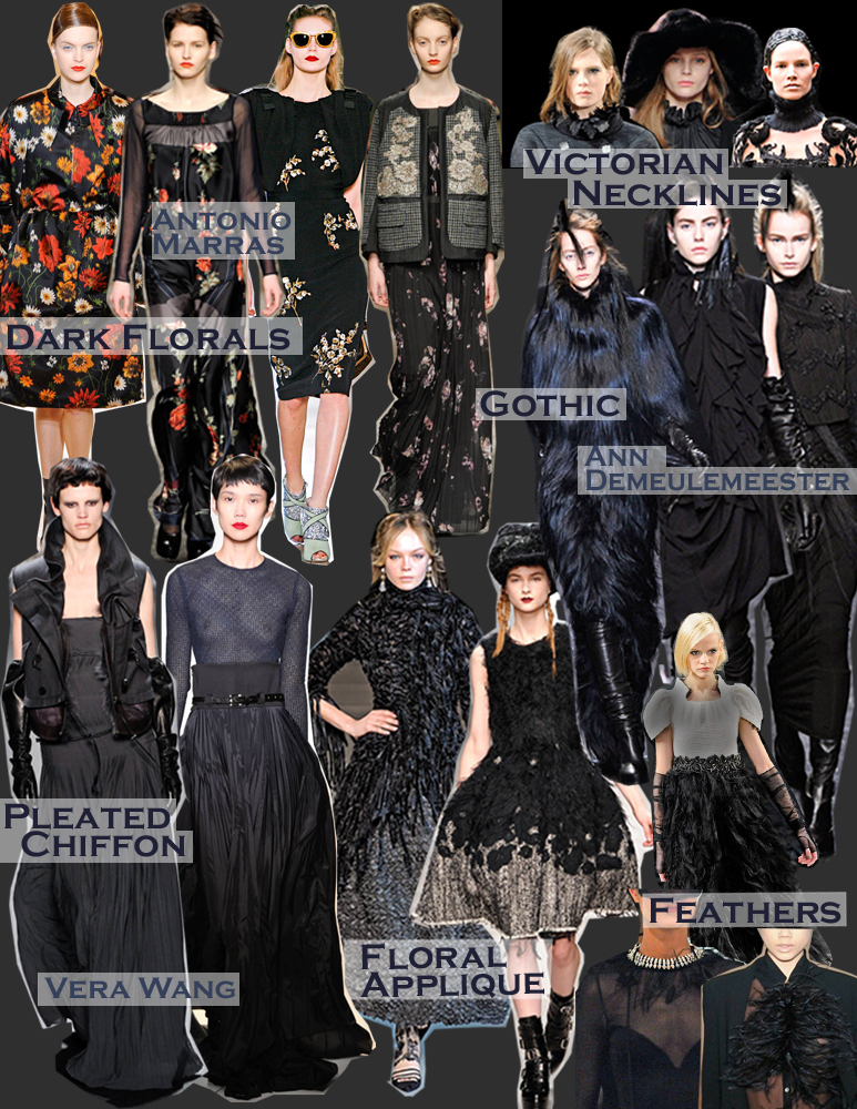 FALL 2011 TOP 10 TRENDS:  #3 ROMANTIC DICHOTOMY