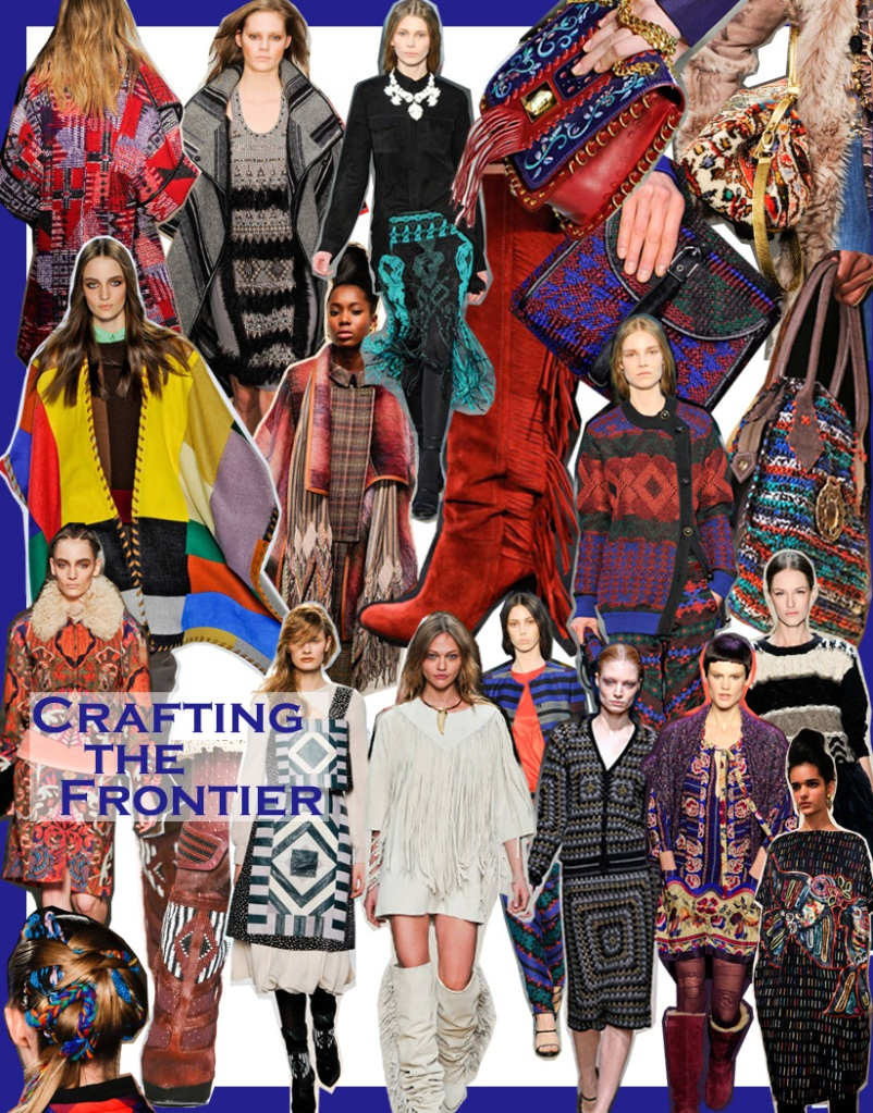FALL 2011 TOP 10 TRENDS:  #8 CRAFTING THE FRONTIER