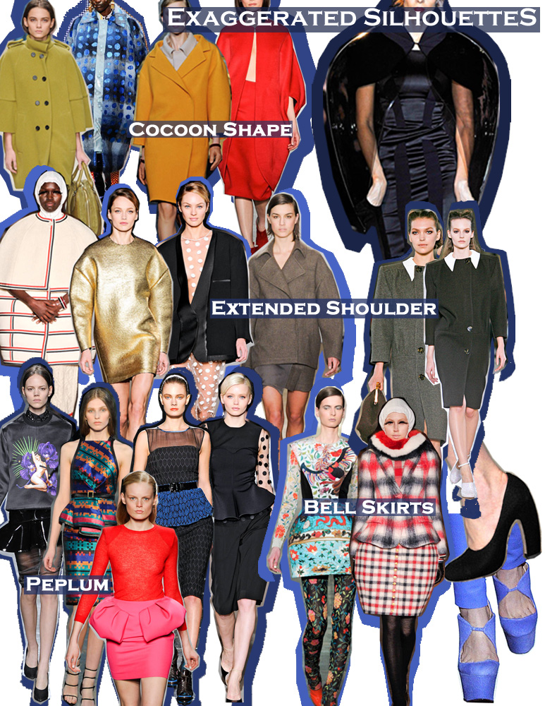FALL 2011 TOP 10 TRENDS:  #9 EXAGGERATED SILHOUETTES