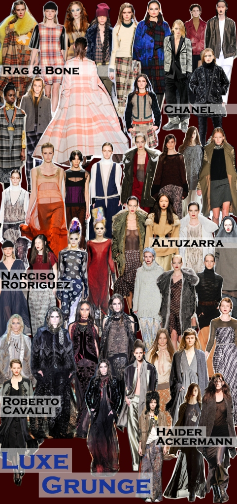 FALL 2011 TOP 10 TRENDS:  #5 LUXE GRUNGE