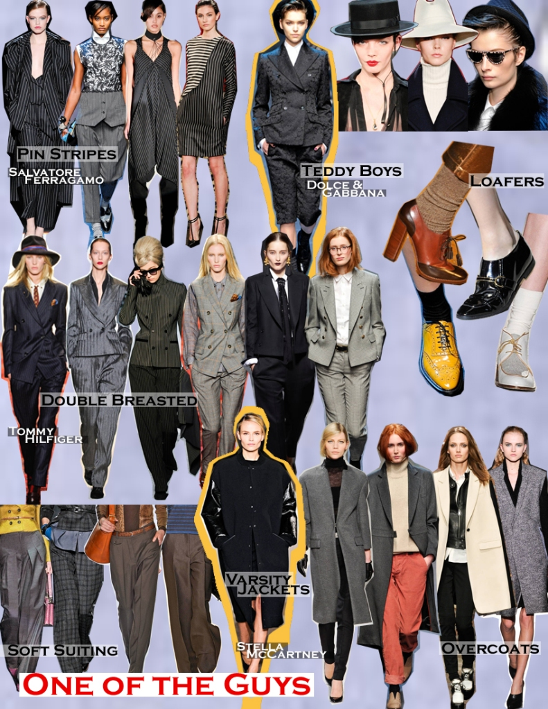 FALL 2011 TOP 10 TRENDS:  #2 ONE OF THE GUYS