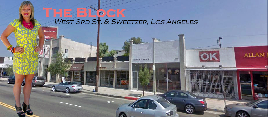 THE BLOCK:  WEST 3RD ST. & SWEETZER, LOS ANGELES
