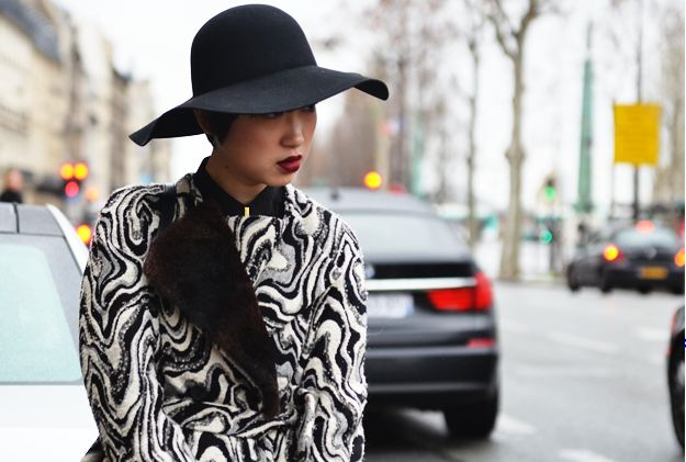 TREND ALERT: FLOPPY HATS MIXED WITH MENSWEAR STYLE