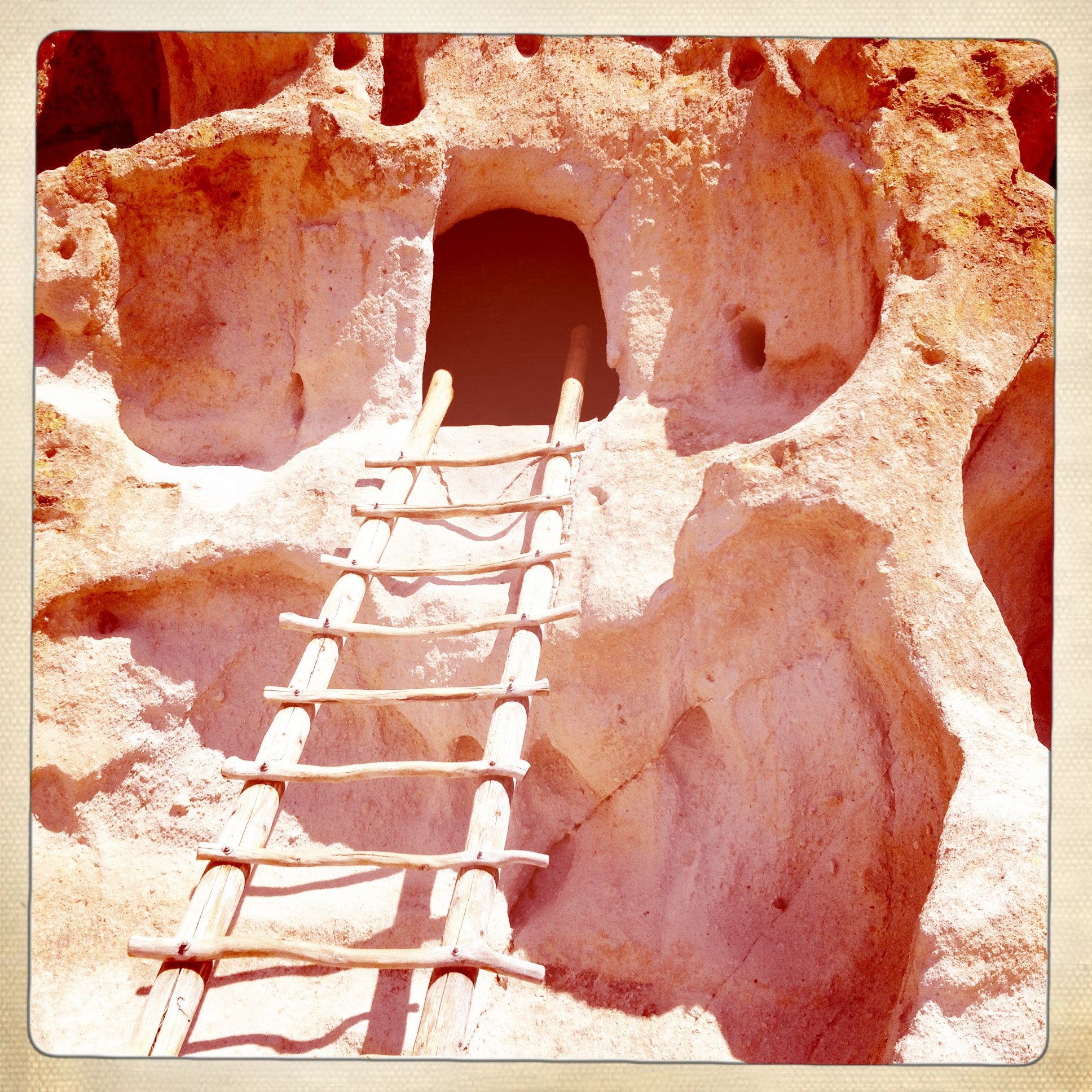 SANTA FE FOLK ART FESTIVAL PART 2:  BANDELIER NATIONAL PARK