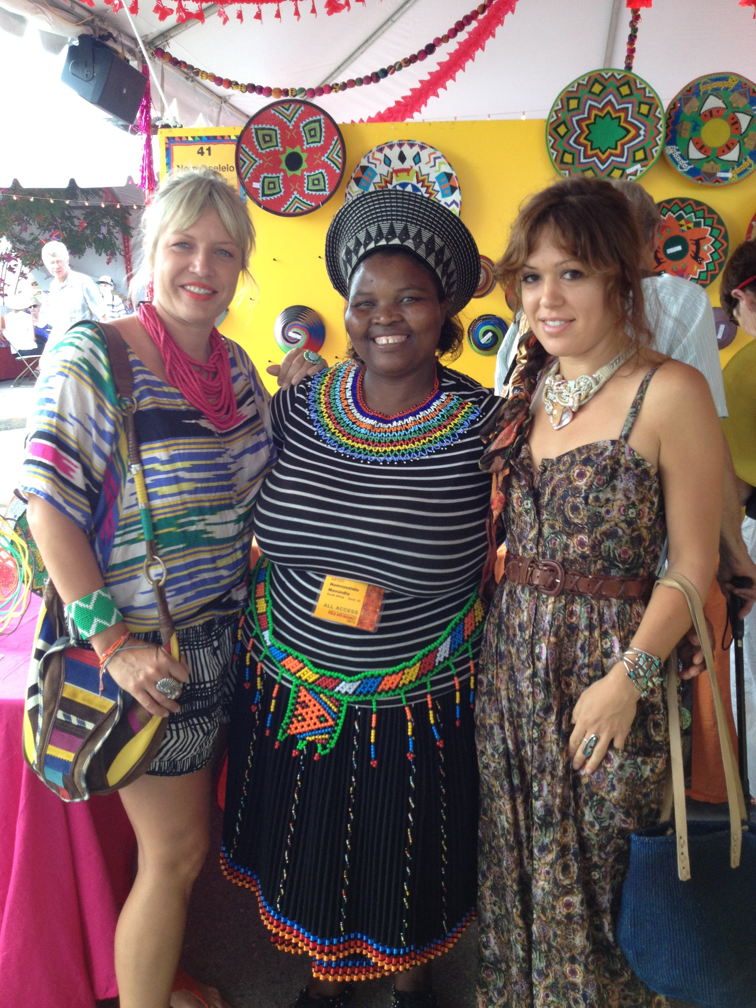 SANTA FE FOLK ART FESTIVAL PART 5: SOUTH AFRICAN ARTISANS