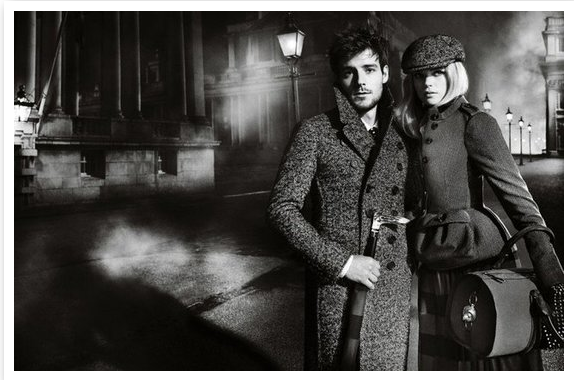 AD CAMPAIGNS SHOW A B&W PERSPECTIVE FOR FALL 2012