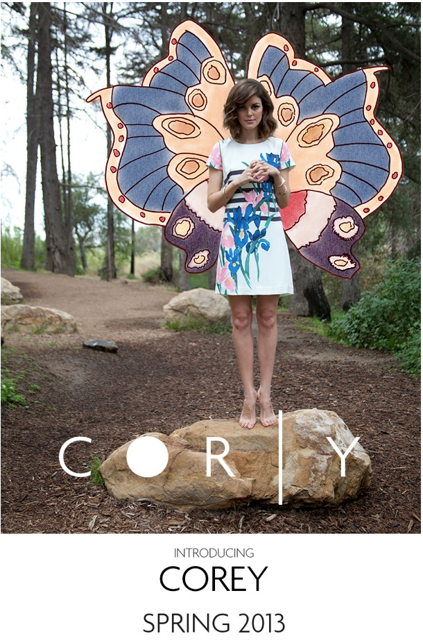 INTRODUCING COREY FOR SPRING 2013