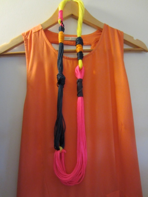 A great necklace for her Spring 2013 collection