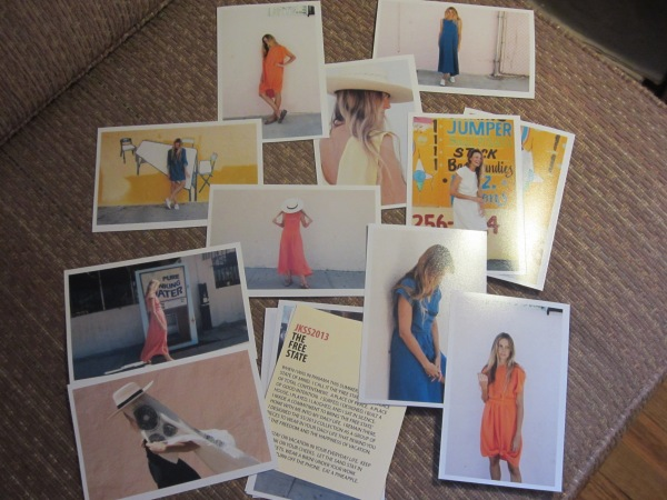 Images from her Spring 2013 lookbook