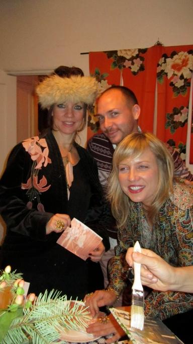 Stephanie, Brian and I