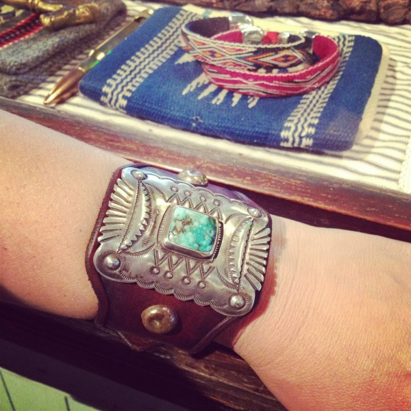 Amazing hand crafted cuff at Stag