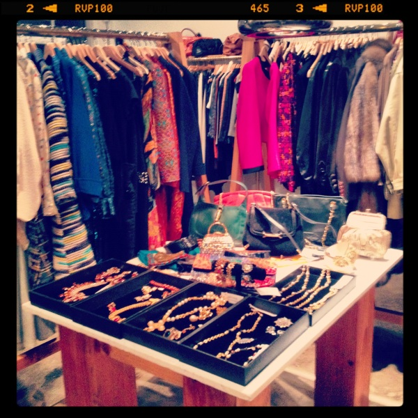 Archive Vintage trunk show at Moss Vintage on S. Lamar