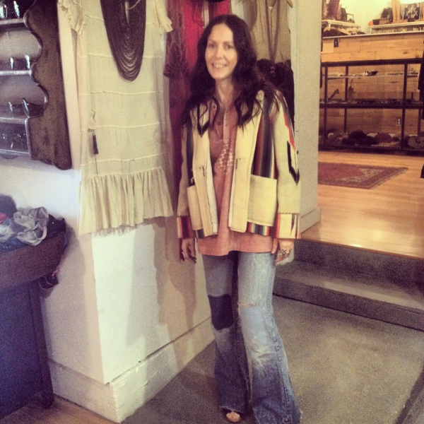 Emily Hoover and her spectacular vintage store, Feathers on South Congress.