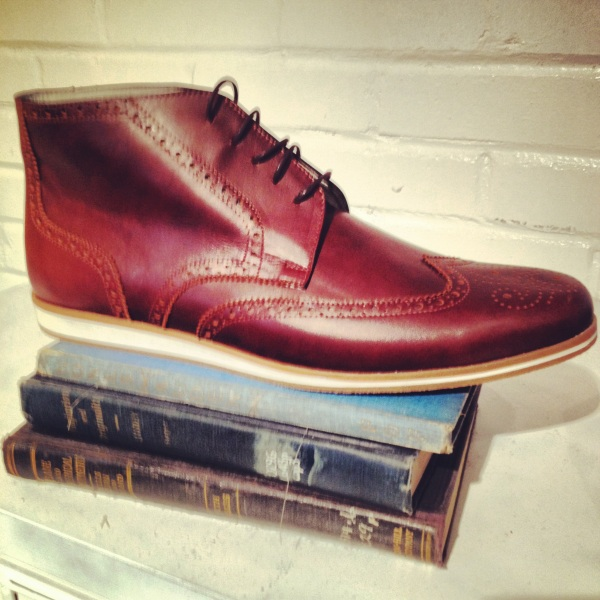 Local handmade boots by Helm