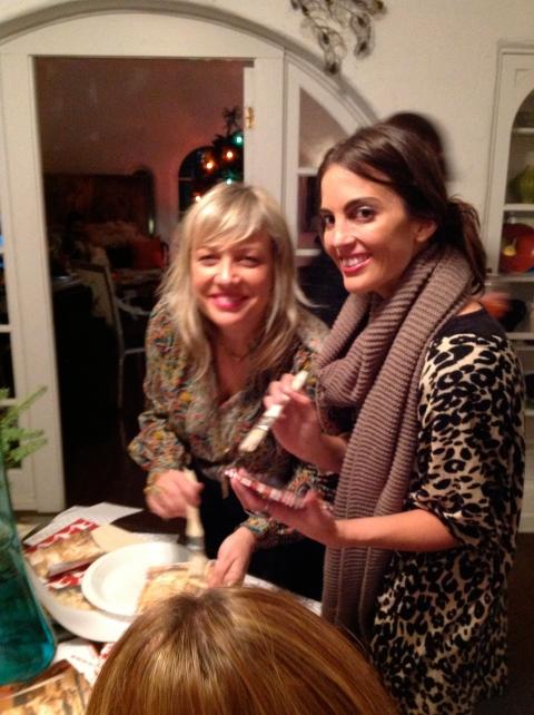 Moonchild's Lauren Rice and me