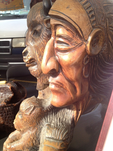 Amazing wood carvings of Native Americans