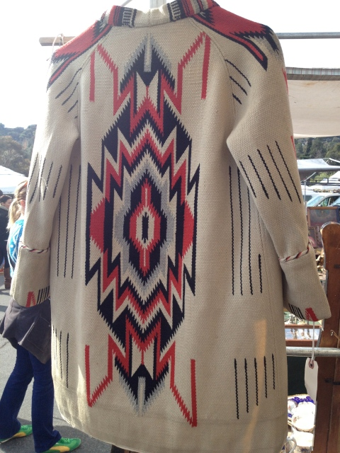 Amazing vintage Chimayo jacket.  Dying for one of these!