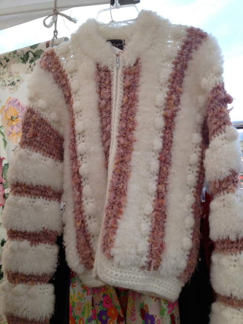 Loved the texture and the design of this cardigan.  Almost bought her.