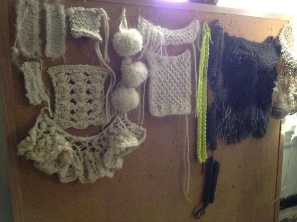 Knit experimentation