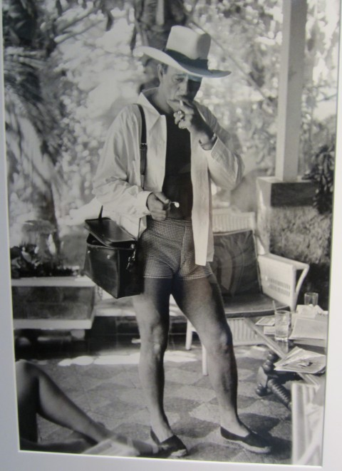 Seriously hot photo of John Wayne in a hat that reminds me of mine; Dermot Begley Fine Arts Gallery Los Angeles