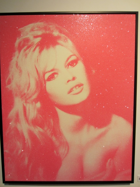 Brigitte Bardo by Russell Young, 2010
