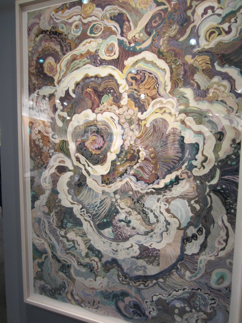 Amazing large scale pieces; the colors and the design were so special.  Reminded me a bit of Alex & Lee in a way.
