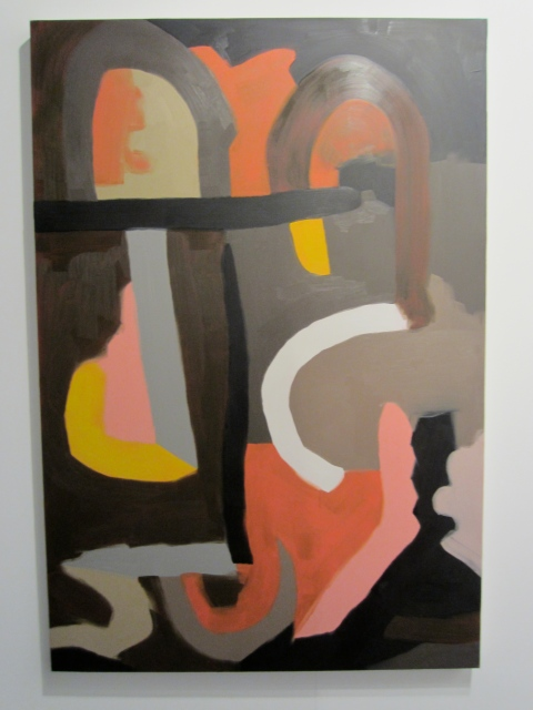 Great abstract color from Daniel Cummings; ACME gallery Los Angeles