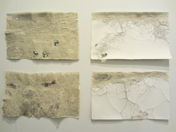 More beautiful texture on paper by Cathryn Boch