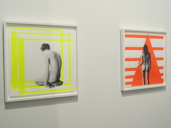 Two of my favorite modern pieces at the Contemporary Art Fair.