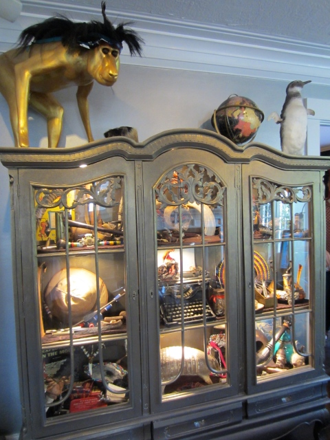 Cabinet of curiosities like I have never seen before
