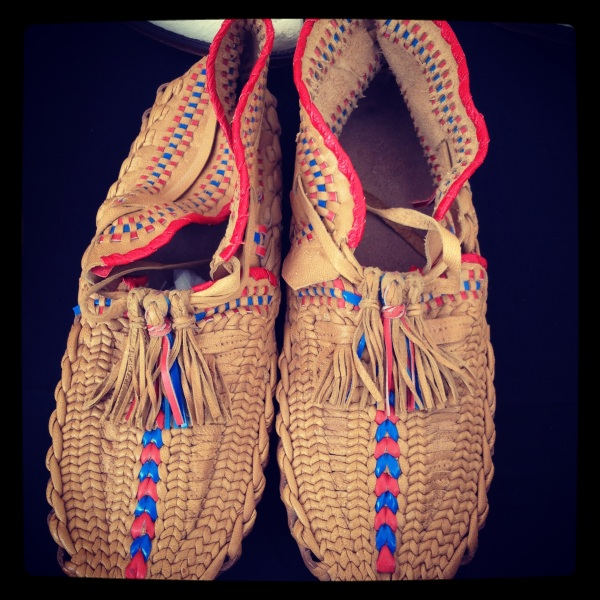 From my favorite clothing vendor, Monica, amazing mocs from Scandinavia.