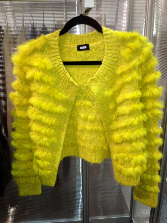 Loved this sweater by a great sweater line called Josie.