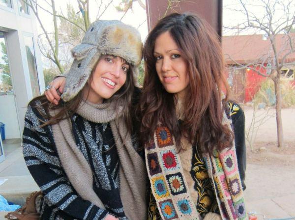 Lauren Rice and Emily Factor