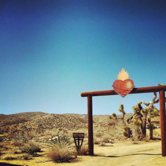 The sacred heart entrance