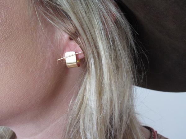 The cuff earring