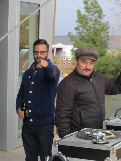 My DJ boys Michael and Armand