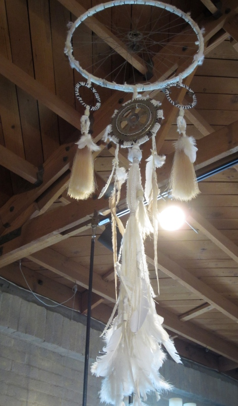 Prices of the dream catchers range from $1000-$2500