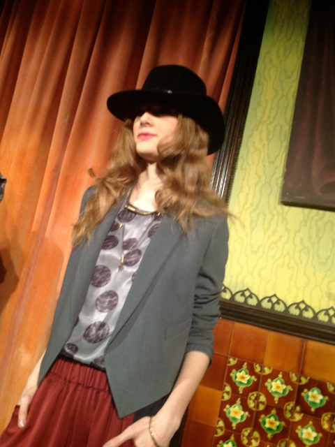Everybody loved the hats by Gladys Tamez