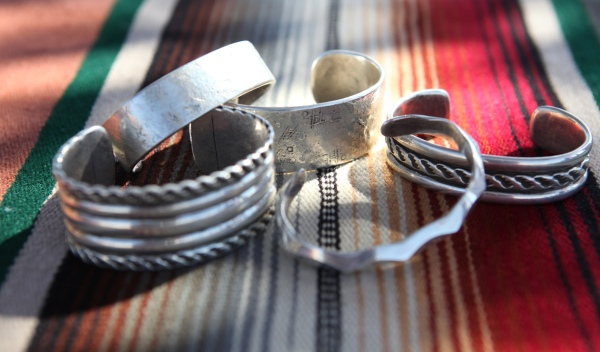 An assortment of cuffs